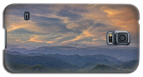 Tennessee Mountains Sunset Galaxy S5 Case