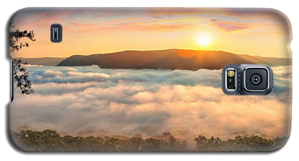 Tennessee River Gorge Morning Fog Galaxy S5 Case