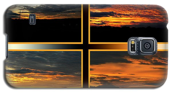 Galaxy S5 Case featuring the photograph Tennessee Sunset by EricaMaxine  Price