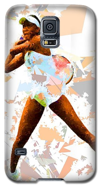 Galaxy S5 Case featuring the painting Tennis 113 by Movie Poster Prints