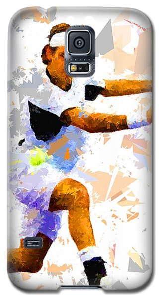Galaxy S5 Case featuring the painting Tennis 114 by Movie Poster Prints