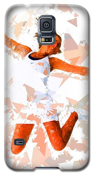 Galaxy S5 Case featuring the painting Tennis 115 by Movie Poster Prints