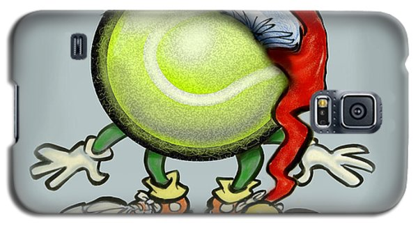 Tennis Christmas Galaxy S5 Case