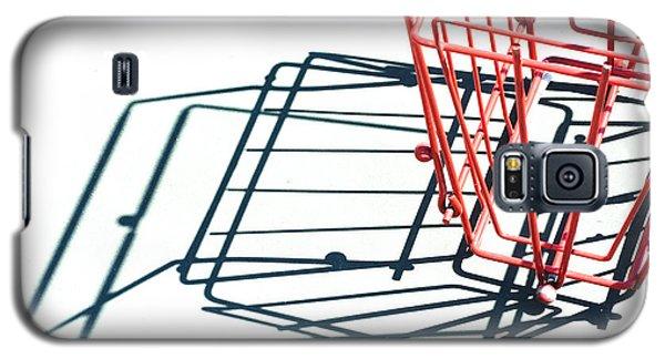 Tennis Court Pickup Basket Galaxy S5 Case by Kae Cheatham