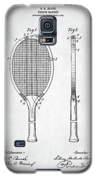 Tennis Racket Patent 1907 Galaxy S5 Case