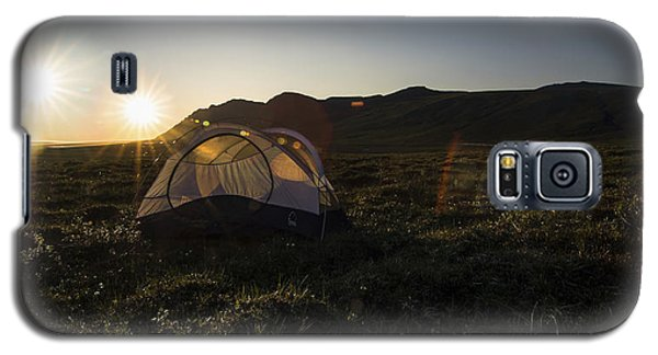Tenting In The Midnight Sun Galaxy S5 Case