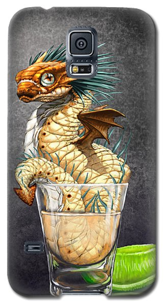 Dragon Galaxy S5 Case - Tequila Wyrm by Stanley Morrison