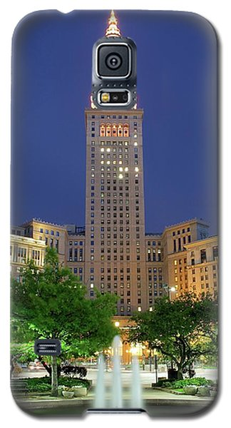 Terminal Tower Galaxy S5 Case by Frozen in Time Fine Art Photography