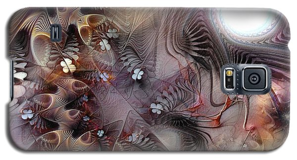 Galaxy S5 Case featuring the digital art Terminating Turpitude by Casey Kotas