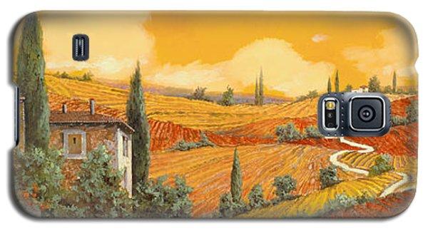 Sunflower Galaxy S5 Case - terra di Siena by Guido Borelli