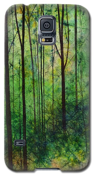 Galaxy S5 Case featuring the painting Terra Verde by Hailey E Herrera