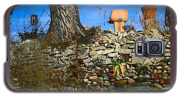 Galaxy S5 Case featuring the photograph Terraced Garden 5 by Lenore Senior