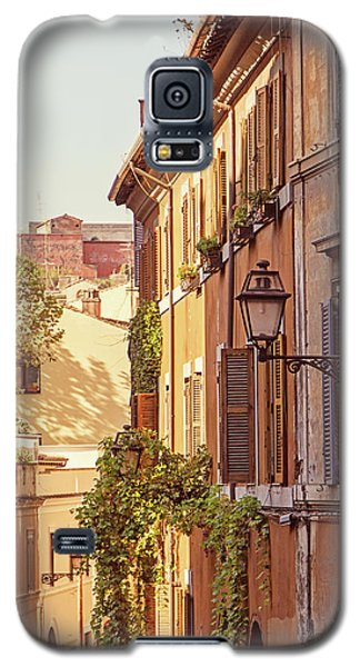 Galaxy S5 Case featuring the photograph Terracotta - Rome Italy Travel Photography by Melanie Alexandra Price