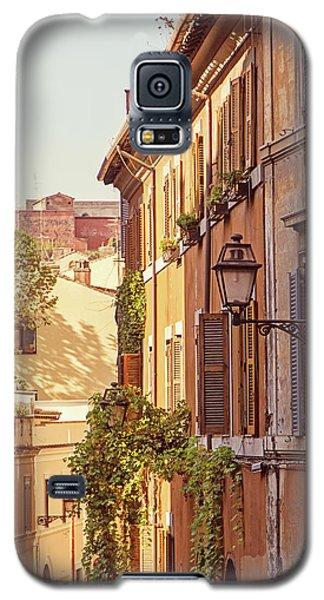 Terracotta - Rome Italy Travel Photography Galaxy S5 Case by Melanie Alexandra Price
