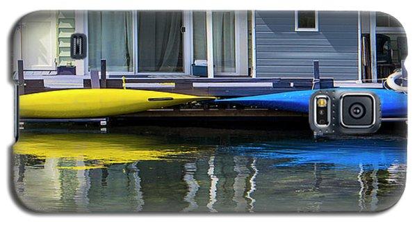 Marina Living In Victoria British Columbia 2to1 Galaxy S5 Case by Ben and Raisa Gertsberg