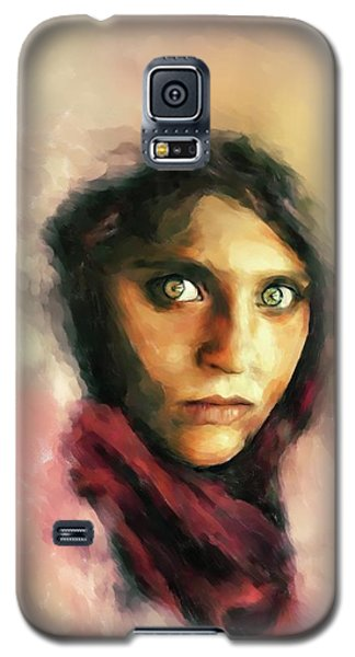 Afghan Girl Galaxy S5 Case