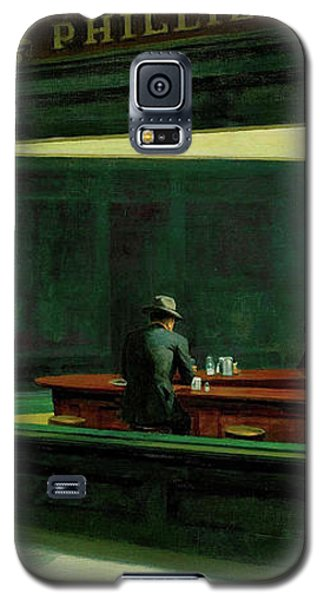 Galaxy S5 Case featuring the photograph Test Tavern by Edward Hopper