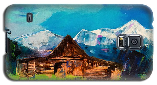 Teton Barn  Galaxy S5 Case