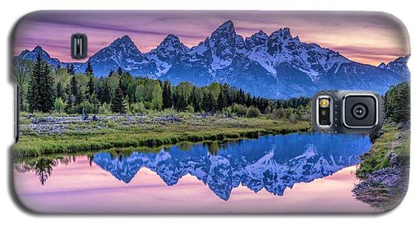 Sunset Teton Reflection Galaxy S5 Case