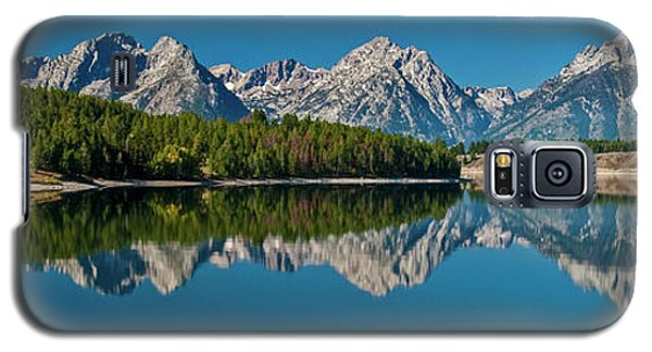 Galaxy S5 Case featuring the photograph Teton Reflections by Gary Lengyel
