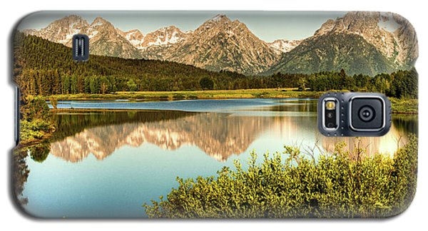 Teton Reflections Galaxy S5 Case by Rebecca Hiatt