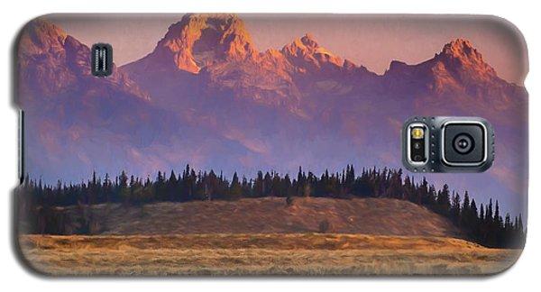 Teton Sunrise Galaxy S5 Case