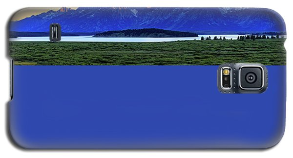 Galaxy S5 Case featuring the photograph Teton Sunset by David Chandler