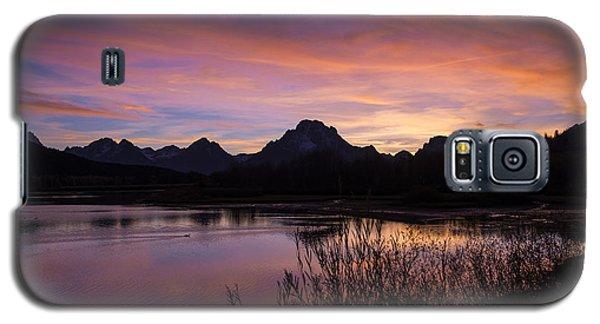Teton Sunset Galaxy S5 Case