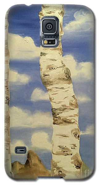 Teton View Thru Aspens Galaxy S5 Case