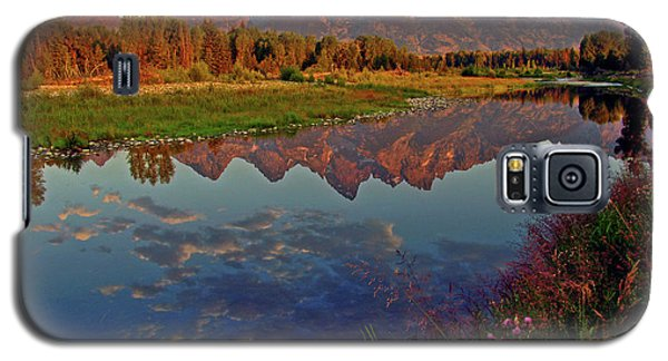 Mountain Galaxy S5 Case - Teton Wildflowers by Scott Mahon