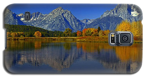 Tetons From Oxbow Bend Galaxy S5 Case