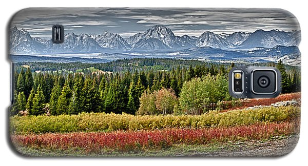 Tetons Galaxy S5 Case by John Gilbert