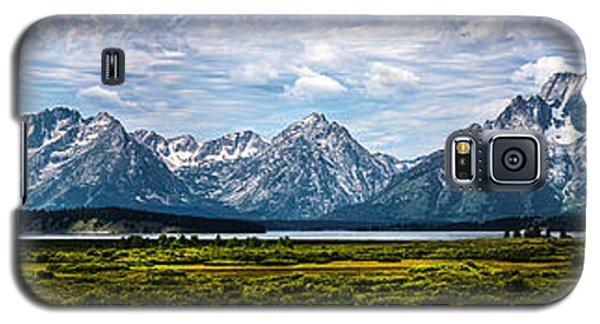 Tetons - Panorama Galaxy S5 Case
