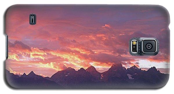 Tetons Sunset Galaxy S5 Case
