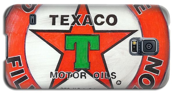 Texaco Sign Galaxy S5 Case
