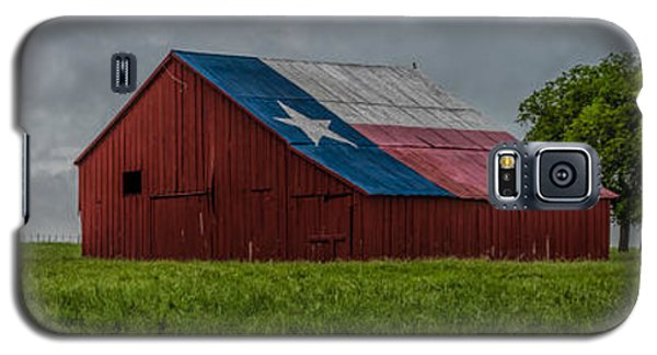Texas Barn Panorama Galaxy S5 Case