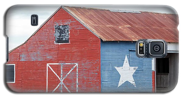 Texas Barn With Goats And Ram On The Side Galaxy S5 Case