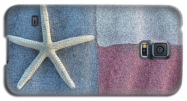 Texas Beach Flag Galaxy S5 Case