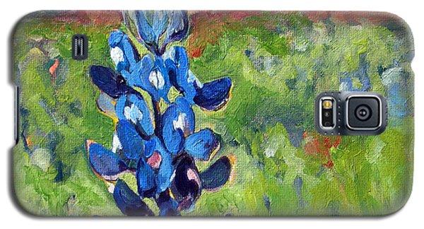 Texas Blue Bonnet Galaxy S5 Case