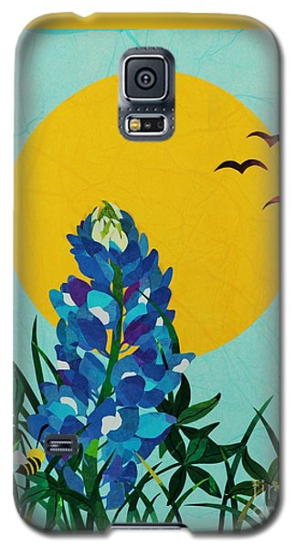 Texas Bluebonnet Galaxy S5 Case