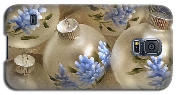 Texas Bluebonnet Ornaments Galaxy S5 Case