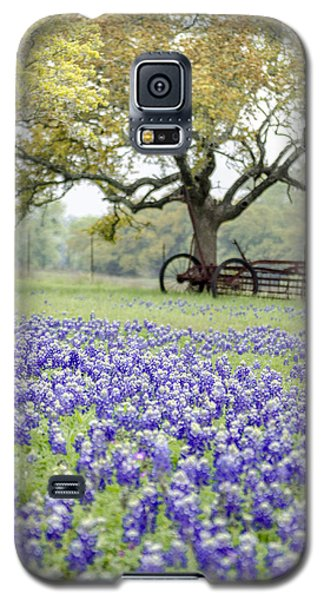 Texas Bluebonnets And Rust Galaxy S5 Case by Debbie Karnes