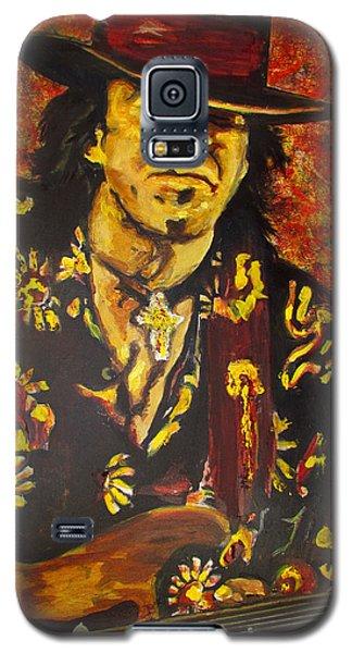 Texas Blues Man- Srv Galaxy S5 Case by Eric Dee