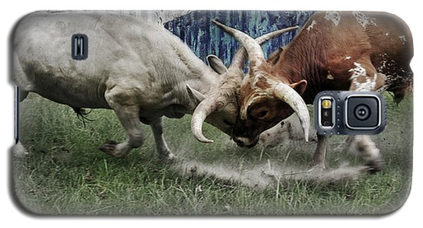 Texas Bull Fight  Galaxy S5 Case