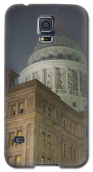 Texas Capitol In Fog Galaxy S5 Case