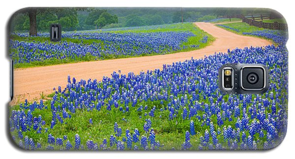 Texas Country Road Galaxy S5 Case