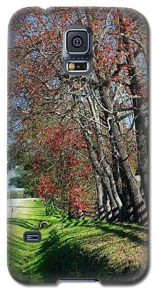 Texas Fall Galaxy S5 Case