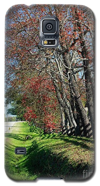 Galaxy S5 Case featuring the photograph Texas Fall by Lori Mellen-Pagliaro
