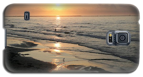 Texas Gulf Coast At Sunrise Galaxy S5 Case by Marilyn Hunt