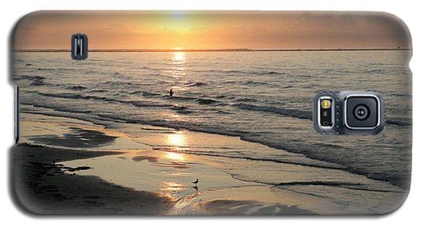 Texas Gulf Coast At Sunrise Galaxy S5 Case